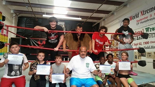 Kids Professional Wrestling After School Program